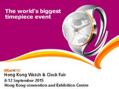 HONG KONG WATCH & CLOCK FAIR 2015