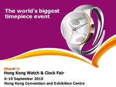 HONG KONG WATCH & CLOCK FAIR 2010
