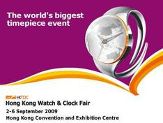HONG KONG WATCH & CLOCK FAIR 2009