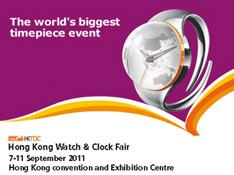 HONG KONG WATCH & CLOCK FAIR 2011